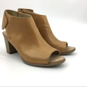 Josef Seidel Bonnie 09 Peep-Toe Leather Bootie